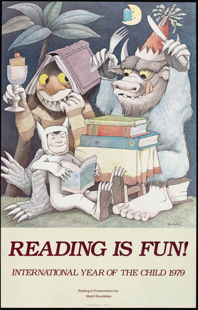 Reading is Fun! International Year of the Child 1979 by Maurice Sendak