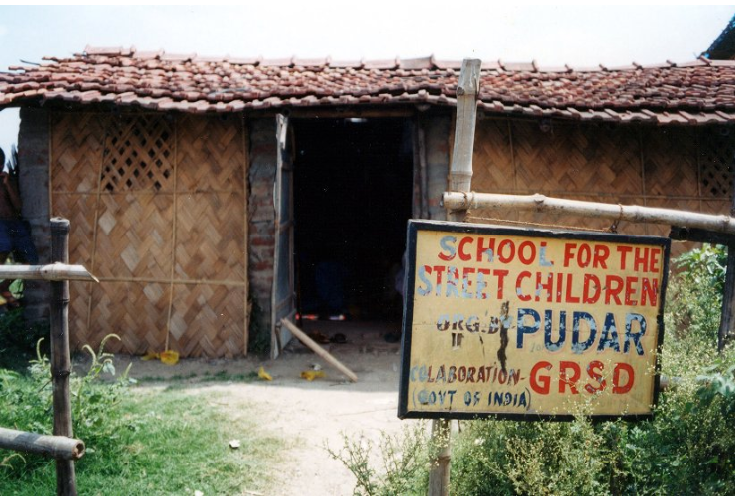 Pudar School for Street Children. U. Roberto (Robin) Romano Papers, 2008.0006