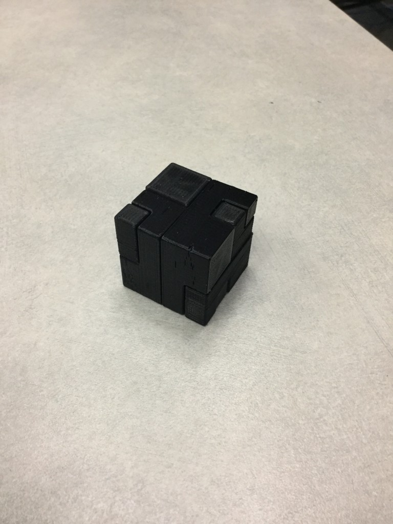 Puzzle Cube Solved