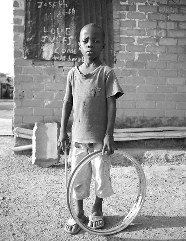 Boy Posing at Firestone Plantation