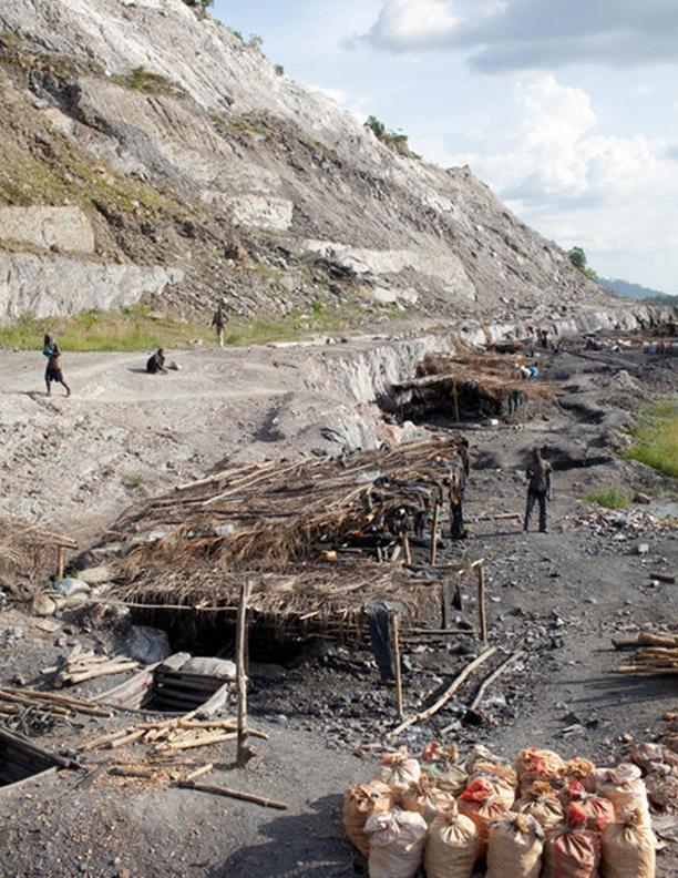 Galamsey Mines in Ghana