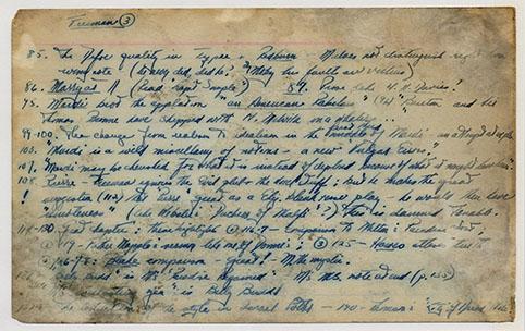 Melville Card 268