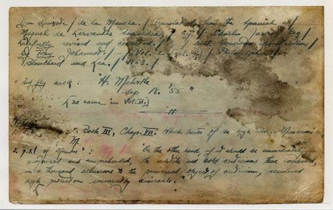 Melville Card 508