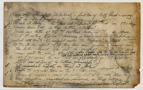 Melville Card 584