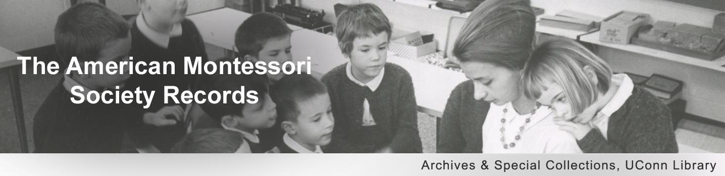 The American Montessori Society Records