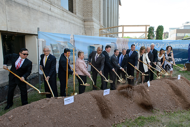 UConn_Hartford_Ground_Breaking_May_18_2015