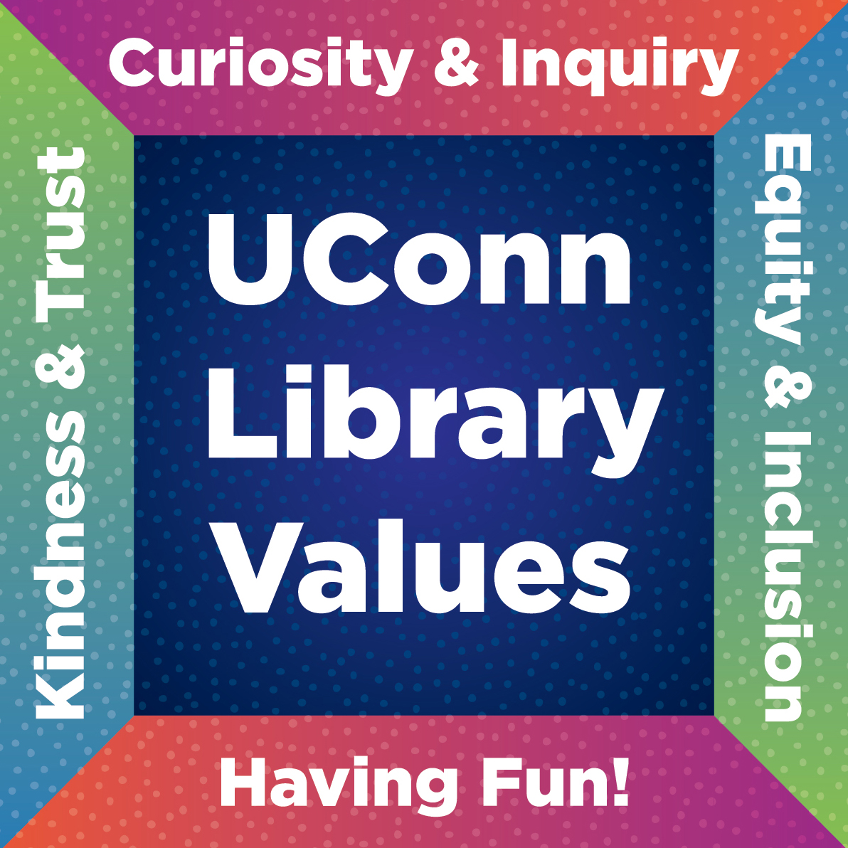 Uconn Library Values icon