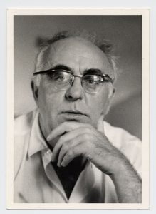 Photo portrait of Charles Olson
