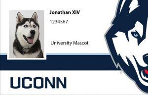 Uconn ID with Jonathan Husky