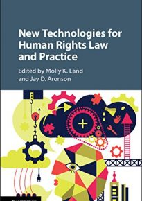 Book cover for New Technologies for Human Rights Law and Practice