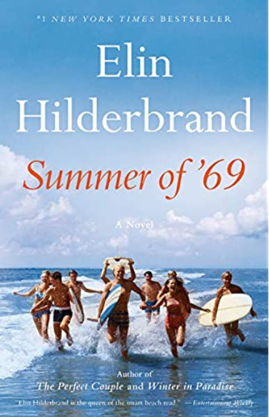 Cover of book called Summer of '69