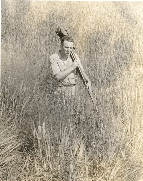 Naturalist writer and photographer Edwin Way Teale