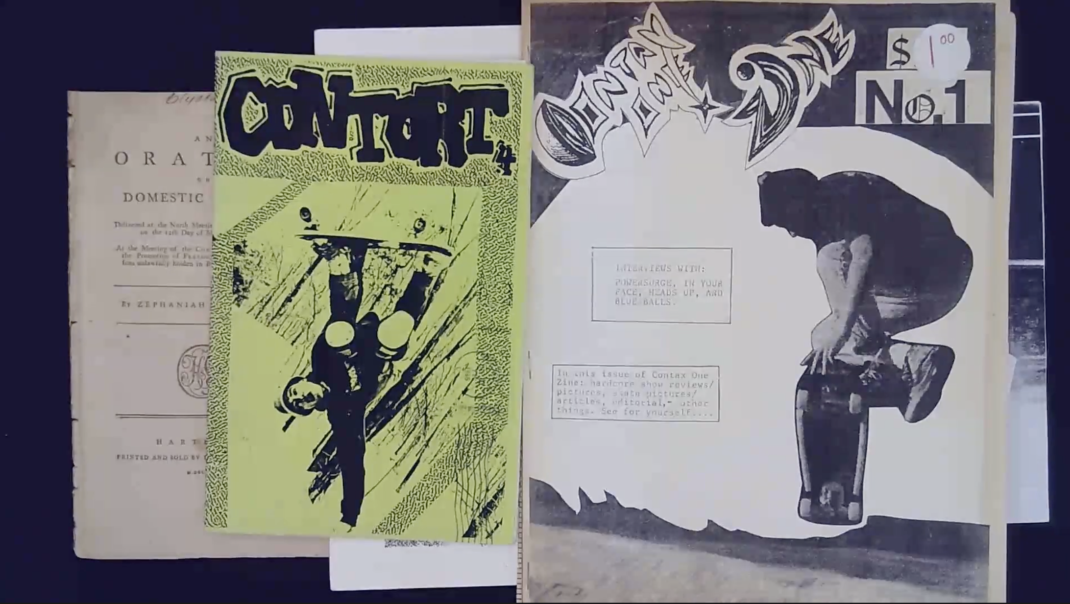 Video Thumbnail for Zine Collections