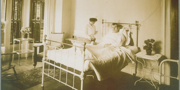 Photo from Archives & Special Collections Ona M. Wilcox College of Nursing Collection.