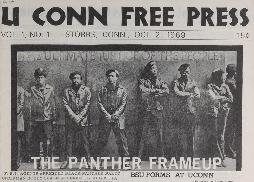 Photo from Archives & Special Collections Alternative Press Collections, UConn Free Press.