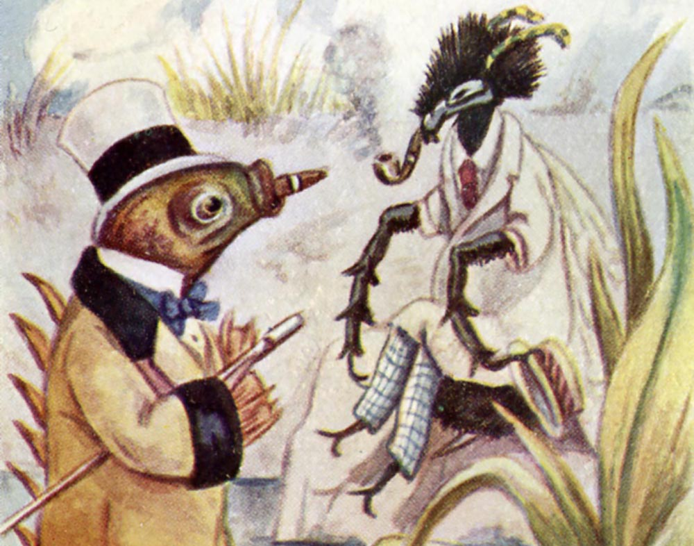 Illustration from the UConn Archives & Special Collections Northeast Children's Literature Collection (NCLC)