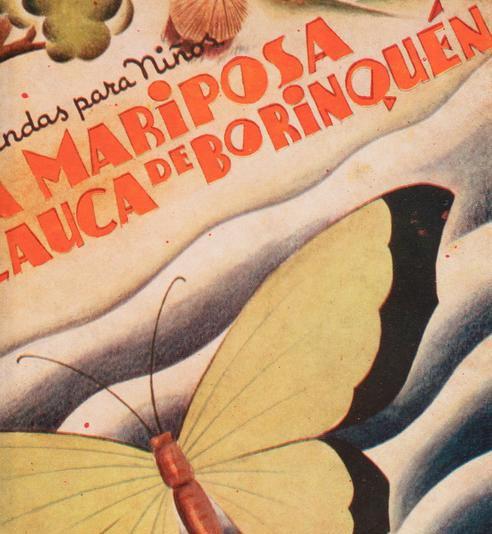 La Mariposa glauca de Boriquén