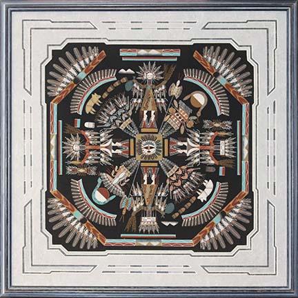 Navajo sand art