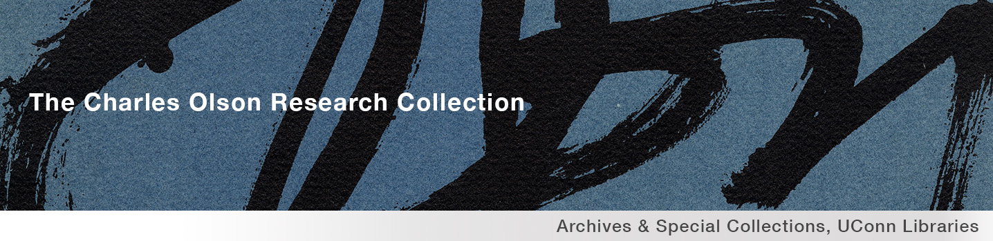 The Charles Olson Research Collection