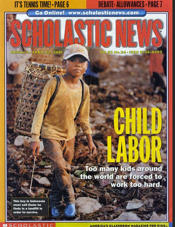 Scholastic News April 23, 2001