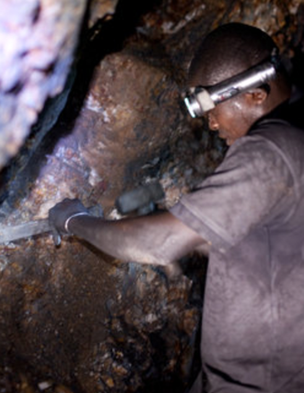 Galamsey Mining for Gold