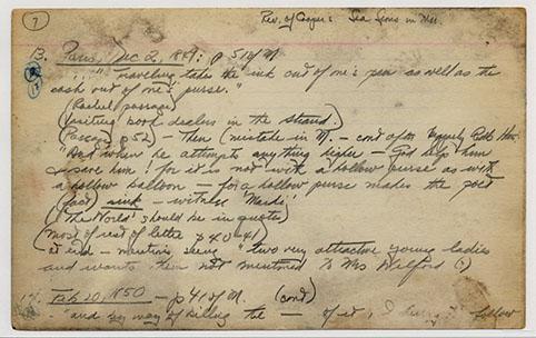 Melville Duyckinck Card 10