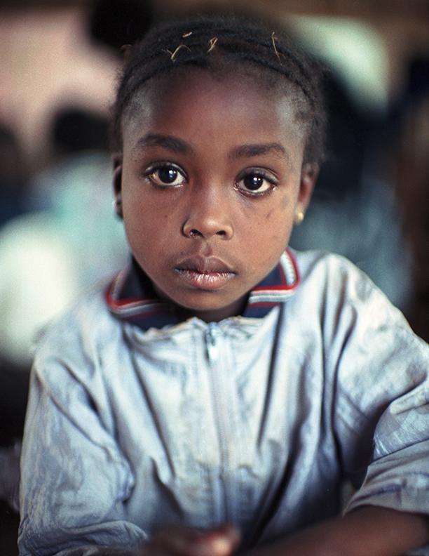 AIDS Orphan Attending Ngegu School